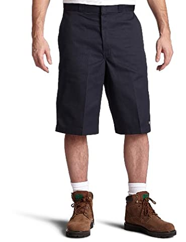 Dickies - Short - Homme, Bleu (Dark Navy), W40 (Taille fabricant: 40)
