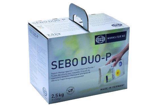 Sebo 0472SE Reinigungspulver Duo-P 2.5 kg (Bewegen Sie Ihn Entlang)
