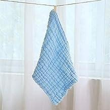 RENNICOCO Toallitas y Toallas de bebé, algodón orgánico Natural toallitas de bebé Toallas Extra Suaves