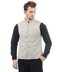 Monte Carlo Mens Cotton Jacket (217039651-5_Grey_40)