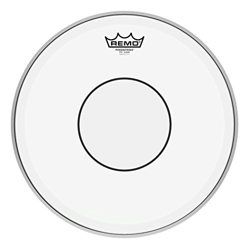 Remo P70313C2 Powerstroke 77 Marching 13 Zoll Snare Batter Schlagfell Powerstroke 77, transparent, Tupfen 14