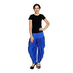 Pietra Blue Pan Style Dhoti