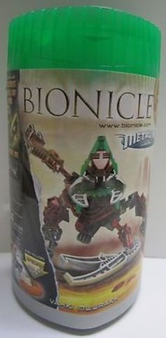 Bionicle Metru Nui 8614 Vahki Nuurakh Limited Edition Set (Includes Mask of Time and Special Disc of Time) by LEGO -