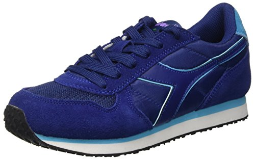 Diadora Damen K-Run W Pumps, Blu (Blu Stampa), 39 EU