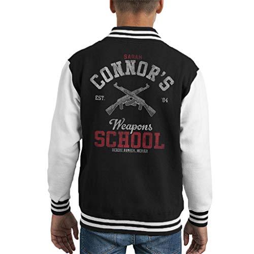 Cloud City 7 Sarah Connors Weapons School Terminator Kid's Varsity Jacket