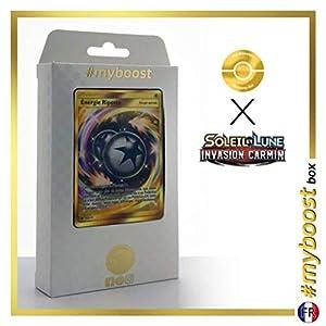 Energie Riposte (Energía Contraataque) 122/111 Energía Secreta - #myboost X Soleil & Lune 4 Invasion Carmin - Box de 10 Cartas Pokémon Francés