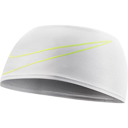 Nike Running Doublewide Headband 3.0 Sweatband White Dri-Fit One Size