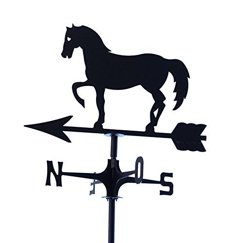 Wetterfahne markiert Wind Pferd Schritt Spanisch. Hergestellt In Italien.