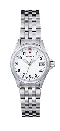 WENGER FIELD FORCE LADIES 72729 SWISS DATE WATCH