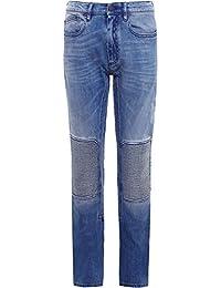 Belstaff Hombres regular fit jeans de motorista blackrod Indigo