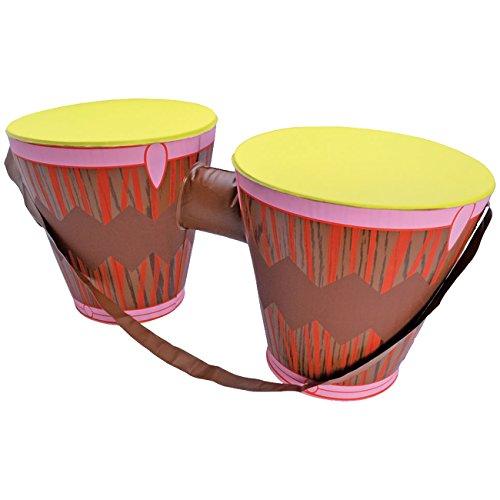 Aufblasbare-Bongo-Trommeln-karibisches-Einsteigerinstrument-Bongotrommel-Trommel