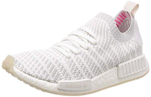 adidas Originals Unisex-Erwachsene NMD_R1 STLT PK Weiß Textil/Synthetik Sneaker 36 2/3