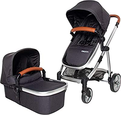 Osann Kinderwagen 3 in 1 System zusammenklappbar, inklusive Babyschalen Adapter