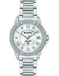 Bulova Marine Star Women's Watch only time Classic Code 96R232