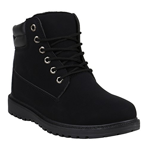 Herren Worker Boots Gefütterte O...