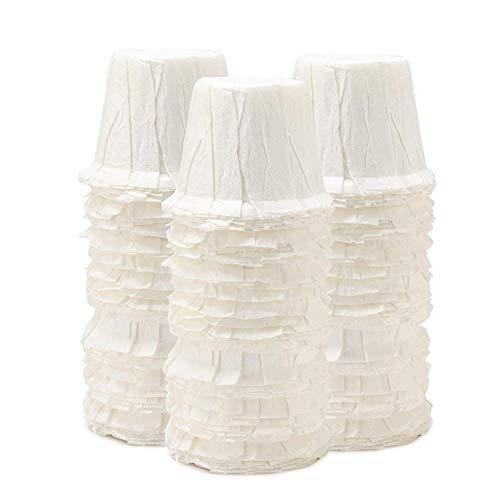 PQZATX Kaffee Filter Papier Kaffee Filter Papiere Ungebleichtes Holz Tropf Papier Kegel Form Kaffee Für Einweg Filter Papier K Karaffen Filter Becher - Keurig Karaffe Filter