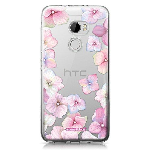 CASEiLIKE® HTC X10 Hülle, HTC X10 TPU Schutzhülle Tasche Case Cover, Hortensie 2257, Kratzfest Weich Flexibel Silikon für HTC One X10