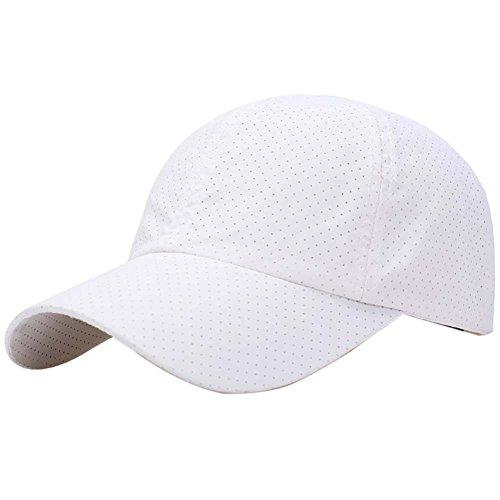 Reefa Sommer atmungsaktiv Baseball Cap Ultra dünne Netz schnell trocken leichte Sonnenhut Laufen Kappe Fishing Mütze