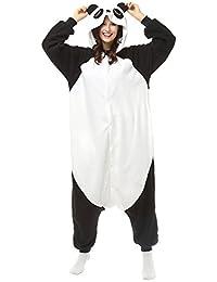 Adultos pijamas de dibujos animados Kungfu Panda Onesie PIJAMAS forro Polar Animal Halloween Traje de Cosplay
