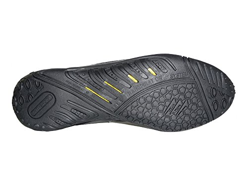 AGLA , Chaussures pour homme spécial foot en salle Black/Silver