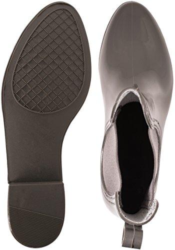 Elara , bottes en caoutchouc femme Gris