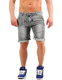 Urban Surface Herren 5-Pocket Jogg Jeans Shorts LUS-103