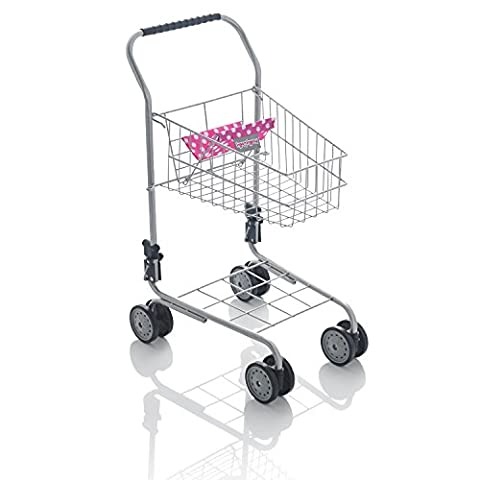 Molly Dolly Deluxe Metal Shopping Trolley