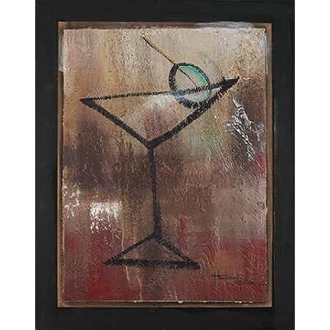 Impresión de Arte Fino en lienzo : S.O.S. Club II by Hakimipour-Ritter - pequeña (56 x 71 Cms)