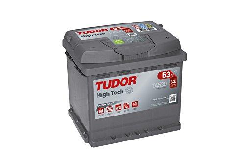 Tudor Exide High-Tech - Batteria per auto 53 Ah, 12 V,dimensioni:207x 175x 190,morsetto destro