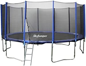SkyJumper 14 Feet Trampoline with Enclosure