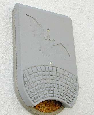Fledermaus-Fassadenquartier 1FQ zweiteilig