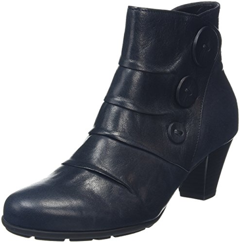 Gabor Shoes 55.647 Damen Kurzschaft Stiefel Blau (Ocean 56)
