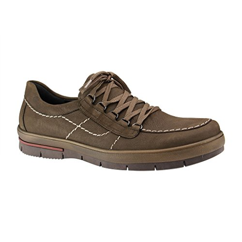 Hommes Waldläufer 378003182014 47f40 À Chaussures Hein Marron Lacets tHtq1SU4