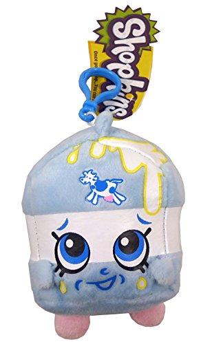 Shopkins Plush Bag Clip - Spilt Milk - Children's Accessories