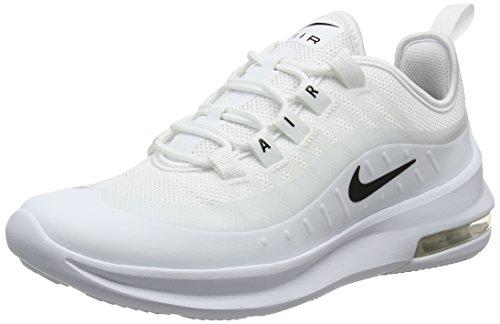 Nike Herren Air Max Axis Sneakers, Weiß (White/Black 001), 40 EU
