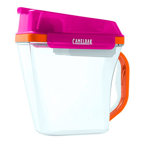 camelbak-relay-water-filtration-pitcher-10-cup-pink-orange