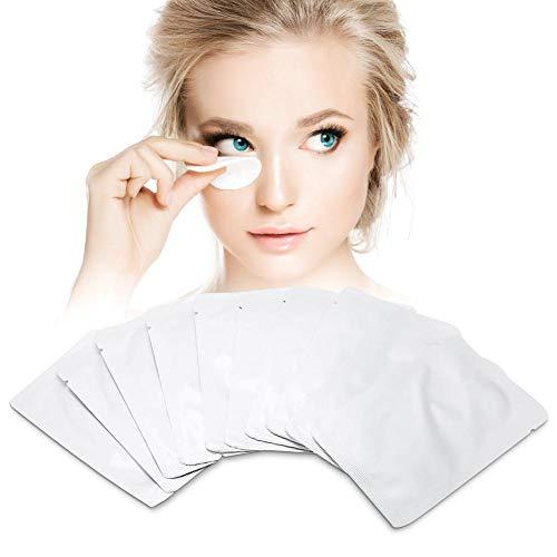 Coussinet pour les cils, 10/30/50 Pair Coussinets pour les yeux Greffage Extension Cils Patch Masque pour les yeux Hydratant Les paupières d'allaitement(10 paires)