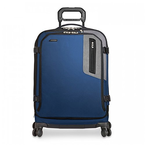 Briggs & Riley BRX Explore Medium Expandable Spinner, 66cm, 71.4 litres, Blue Maleta, 66 cm, liters, Azul (Blue)