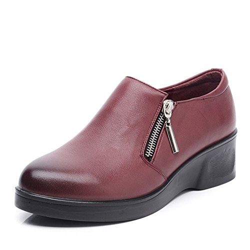 Chaussures grandes femmes d'âge moyen/Maman et chaussures de fond mou/ chaussures femme/Chaussures de femmes d'âge mûr/Les souliers C