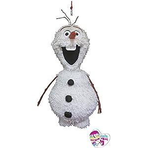 Olaf Piñata. Gefrorene Pinata. 3D (Optionaler Stick)