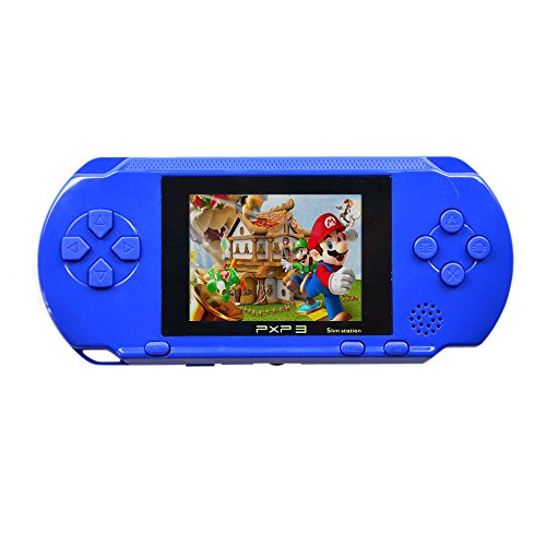 Trustdeal PXP3 MD-2700 Slim Station 16 Bit Portable Handheld Gaming Console Game