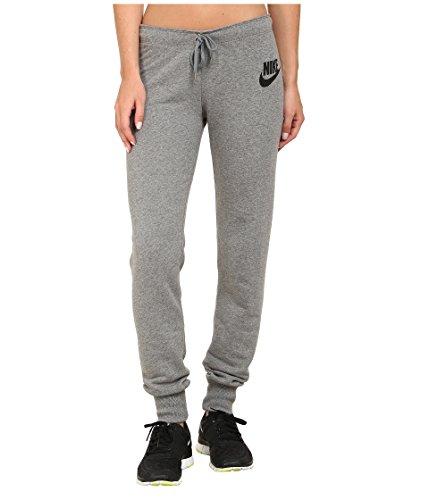 Nike Damen Hose Rally Tights, Carbon Heather/Cool Grey/Black, L, 545769-091 (Männer Frauen Nike)