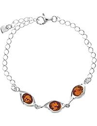 Nature d'Ambre - Bracelet - Argent 925 - Ambre - 22 cm - 31812241RH