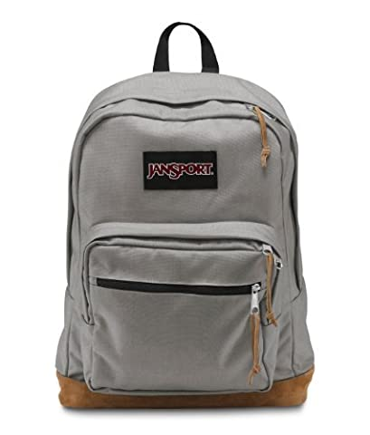JanSport Right Pack Active Backpack - Grey Rabbit - 18H x 13W x 8.5D Color: Grey Rabbit Size: One Size Consumer Portable Electronics/Gadgets
