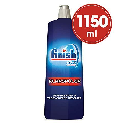 Finish Klarspüler mit Glanz- und Glasschutz, XXL Pack, 1150 ml