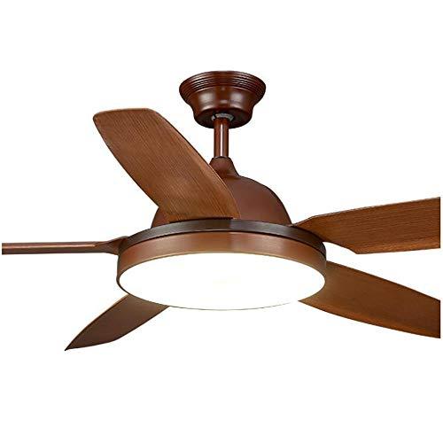 La luz de techo del ventilador, ventilador de techo Lámpara 56 pulgadas...