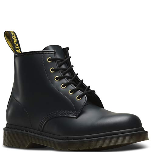 Dr. Martens Unisex Adults 101 Smooth Originals Core Leather Ankle Boots - Navy Smooth - 13