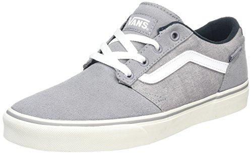 vans-mn-chapman-stripe-sneakers-basses-homme-gris-suede-canvas-40-eu