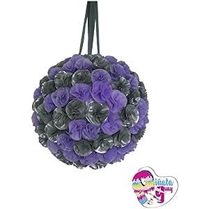 Pinata Blumen (lila und Silber). Hochzeit Piñata. Piñata Jahrestag (Optionaler Stick)