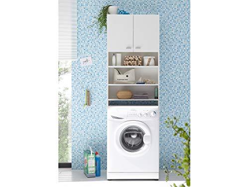 Wash tower waschmaschinenschrank weiß